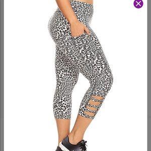 Pants - Leopard Leggings XL